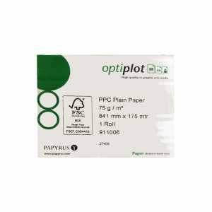 Papyrus Optiplot Plotterpapier 911006, 33 Zoll (841mm), 75g/m², 175m - 1