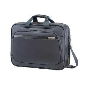 Samsonite Vectura M Bailhandle, 16 Zoll, Laptoptasche, Sea Grey, Grau