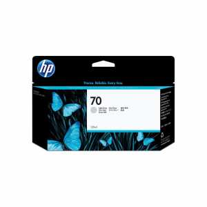HP Nr. 70 light gray 130 ml - HP Nr. 70 light gray 130 ml