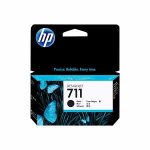 HP Nr. 711 black 38 ml - HP Nr. 711 black 38 ml