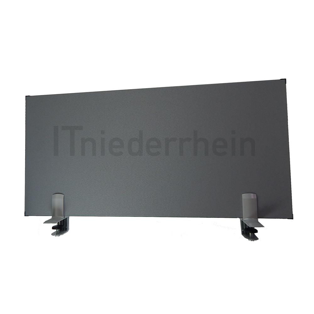Schreibtisch trennwand sicht und schallschutz 80 x 40 cm for Schreibtisch trennwand