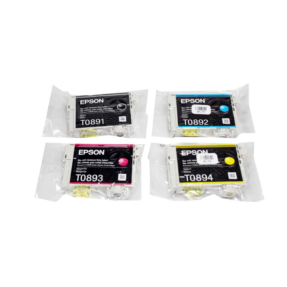 Epson Multipack T0895: T0891, T0892, T0893, T0894