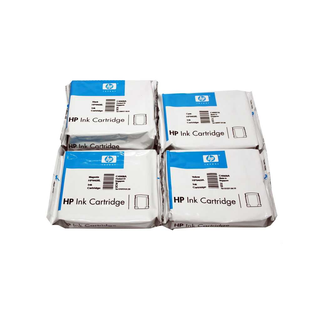 HP Druckerpatronen Set No 940XL, C4906AE, C4907AE, C4908AE, C4909AE ab 11/2021