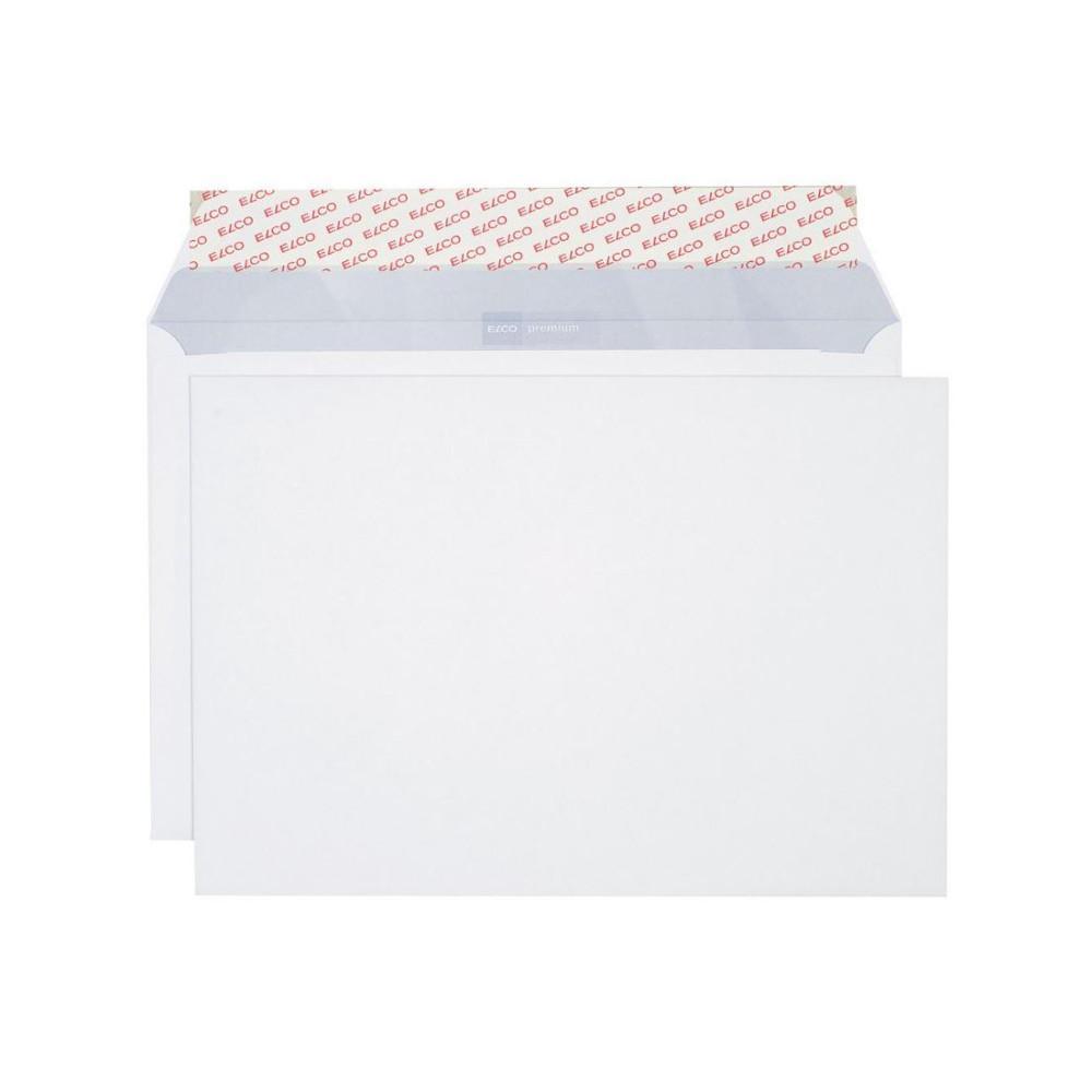 250 X Elco Premium Kuvert Briefumschlag C4 Weiß Ohne F 120gm²