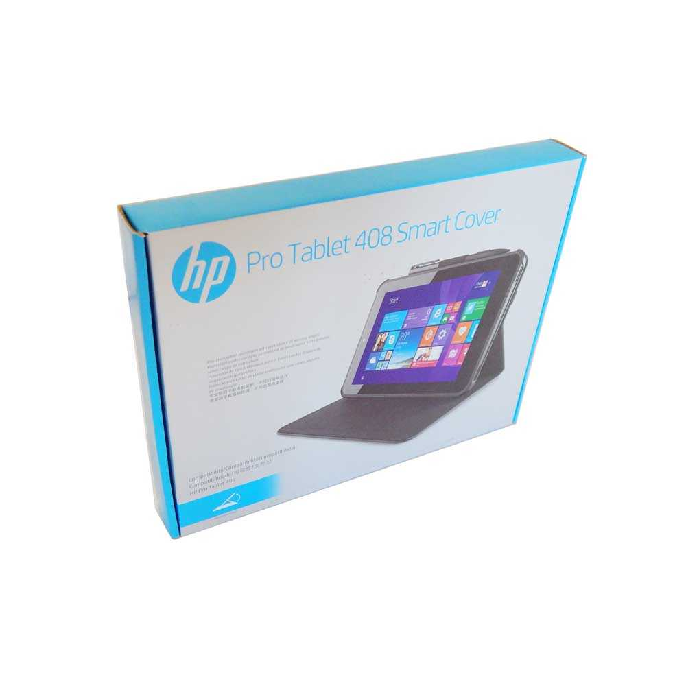 HP Pro Tablet 408 Smart Cover, L0V30AA, Tablet Hülle, schwarz