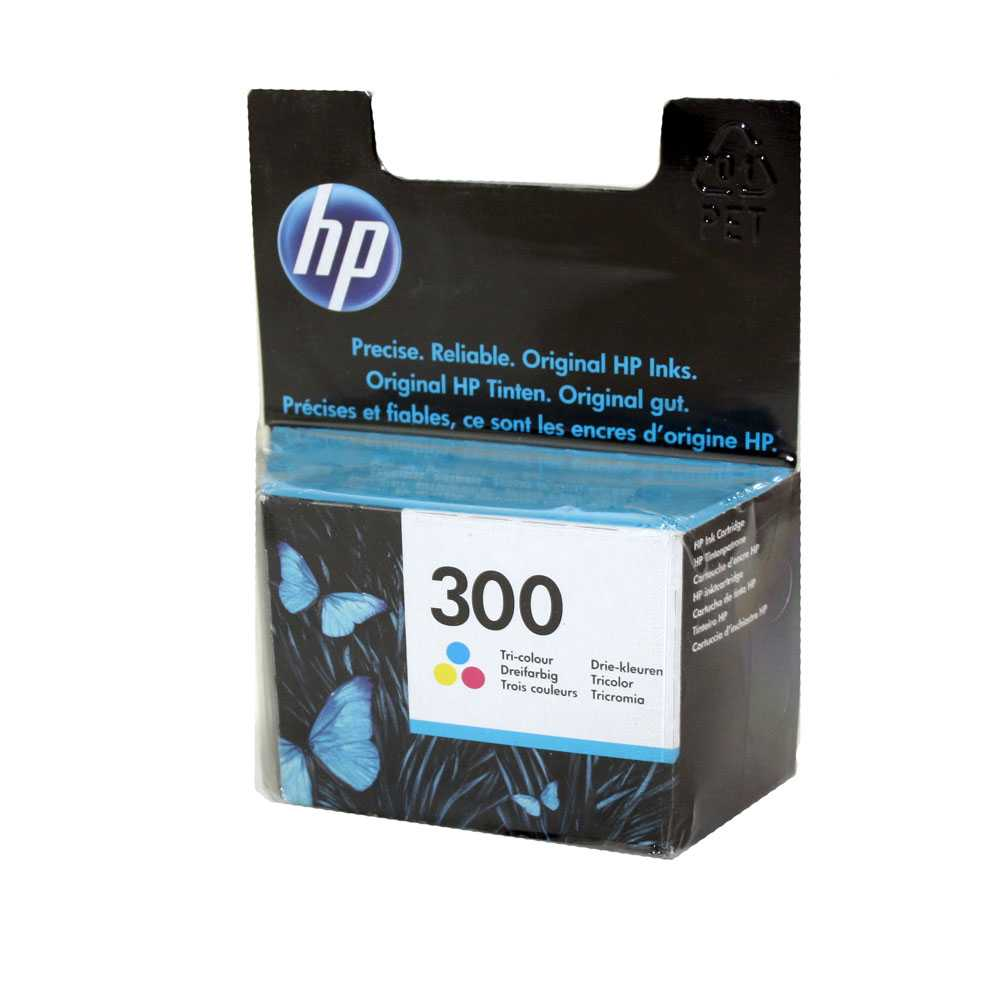 HP Druckerpatronen Nr. 300 Color CC643EE DeskJet D2560 01/2019
