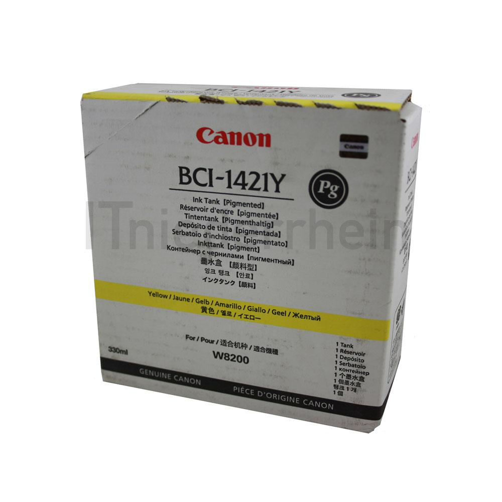 Canon Ink Tank BCI-1421Y Yellow 8370A001 Kapazität: 330 ml, 2008