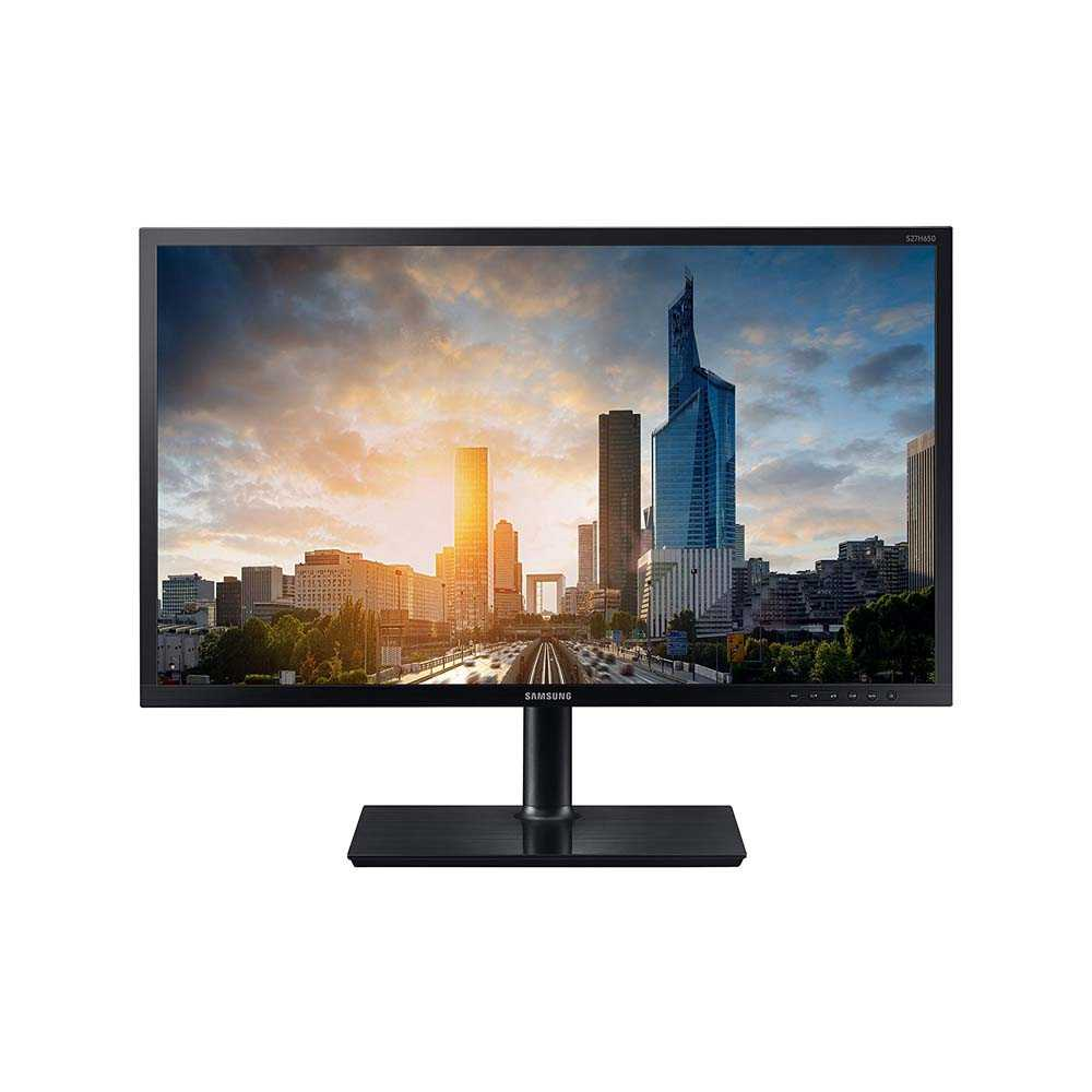 Samsung Business Monitor S27H650FDU LED 27 Zoll (68,6cm), 5ms, HDMI, DP, VGA, schwarz