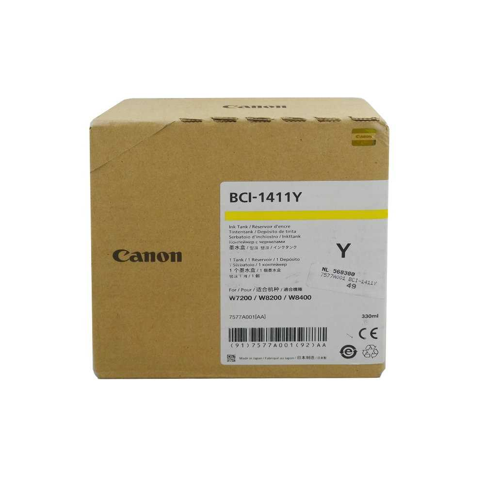 Canon Ink Tank BCI-1411Y Yellow, 7577A001, Kapazität: 330 ml, 2018