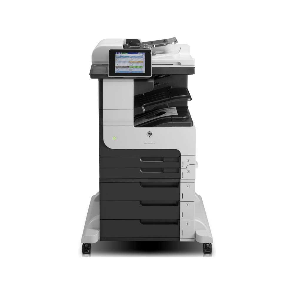 HP Laserjet Enterprise 700 M725z MFP CF068A 4in1 s/w Multifunktionsdrucker A3, überholt