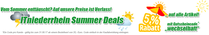 Rainy Summer Deals