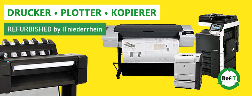 Drucker, Plotter und Kopierer
