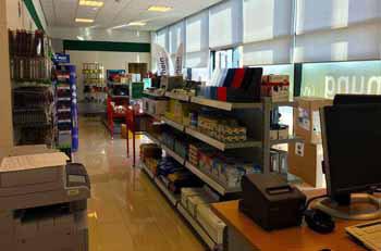 Ladenlokal für Büroartikel und Schreibbedarf