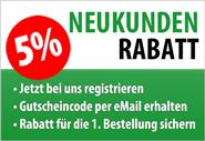 Neukunden-Rabatt